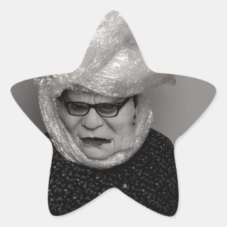 tranny granny star sticker