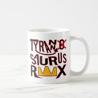 Tranny Saurus Rex Basic White Mug