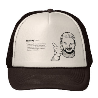 TRANNY TRANSMISSION MESH HAT