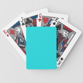 Tranquility in Teal Poker Deck