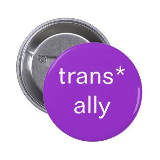trans* ally button