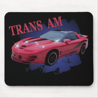 TRANS AM RED READY MOUSE MATS