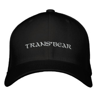 Trans*BEAR Embroidered Hat
