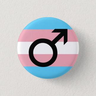 Trans Guy Pride 3 Cm Round Badge