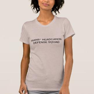 trans* headcanon defense squad T-Shirt