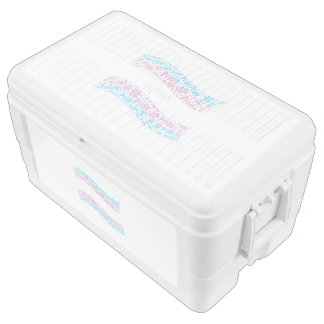 TRANS PRIDE FLAG -.png Igloo Chest Cooler