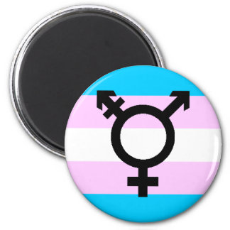 Trans Pride magnet - with symbol