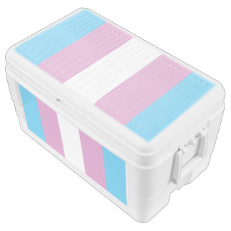 TRANS PRIDE STRIPED VERTICAL - 2014 PRIDE.png Igloo Chest Cooler