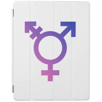 TRANS UNIVERSAL SYMBOL - png iPad Cover