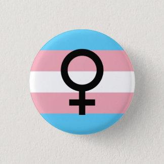 Trans Woman Pride 3 Cm Round Badge
