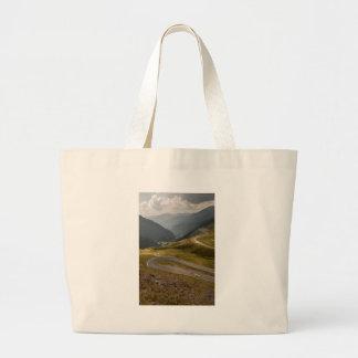 transfagarasan large tote bag