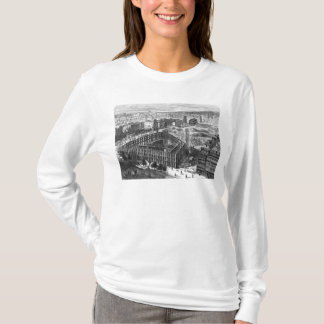 Transformation of Paris: Building in 1861 T-Shirt