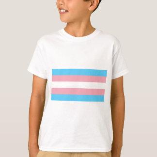 Transgender Pride Flag - LGBT Trans Rainbow T-Shirt