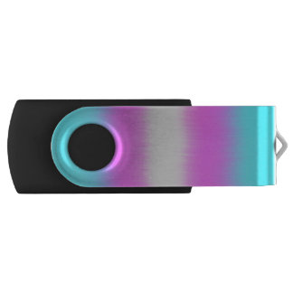 Transgender Pride Smudge USB USB Flash Drive