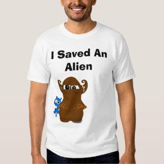 transparent, I Saved An Alien T Shirt