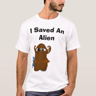 transparent, I Saved An Alien T-Shirt