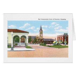 Transportation Center, Cheyenne, Wyoming Card