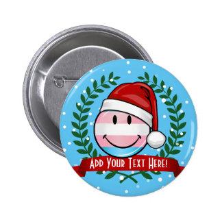 Transsexual Pride Christmas 6 Cm Round Badge