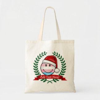 Transsexual Pride Christmas Budget Tote Bag