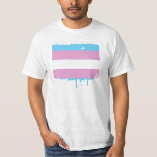 TRANSSEXUAL PRIDE STRIPES DESIGN T-Shirt