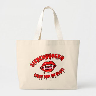 Transylvania - is appropriate for me in the blood! large tote bag