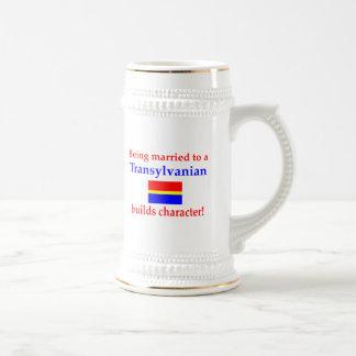 Transylvanian Builds Character Beer Stein