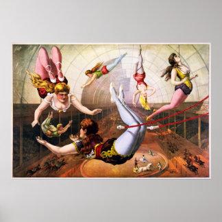 Trapeze Artists Print