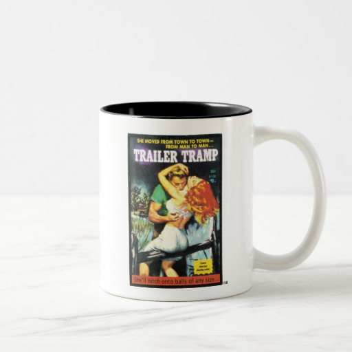 TRASH-Trailer-Tramp Coffee Mugs