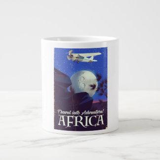 Travel Into Adventure! Africa Large Coffee Mug
