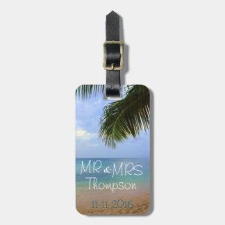 Travel | Luggage Tag | Honeymoon | Mr & Mrs
