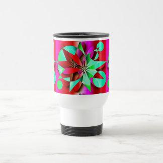 "Travel Mug "" Christmas Flower"""