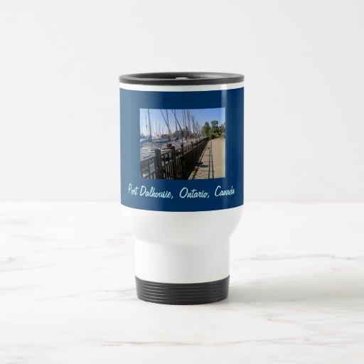 "Travel Mug  ""Port Dalhousie, Ontario., Canada"