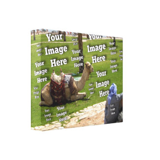 Travel Photo Vacation Image Template Canvas Print