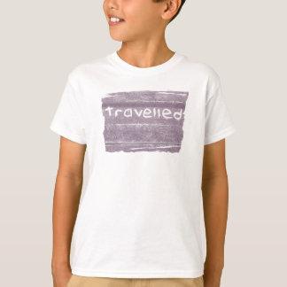 Travel purple travelled rustic bohemian T-Shirt