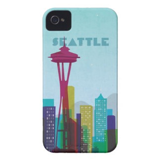 Travel Series Seattle iPhone4/4s Case