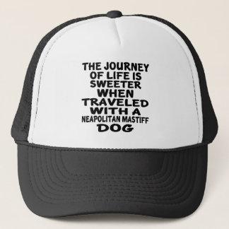 Traveled With A Neapolitan Mastiff Life Partner Trucker Hat