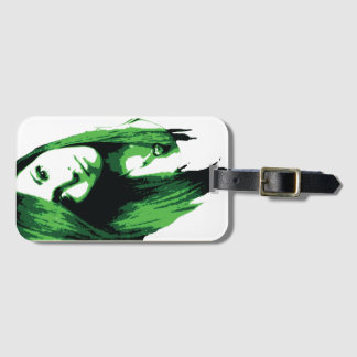 Traveling Artist Luggage Tag