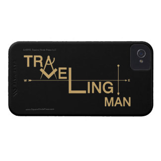 Traveling Man iPhone 4 Covers