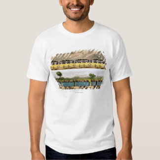 Traveling on the Liverpool and Manchester 2 Tee Shirt