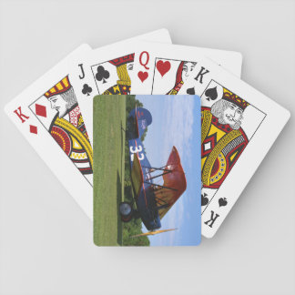 Travil Air, 3000, 1928, Blakesburg_Classic Aviatio Playing Cards