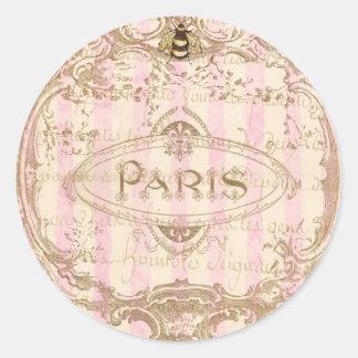Tre Chic Paris Stickers or Envelope Seals