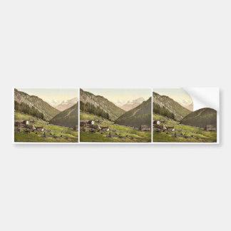 Tre Croci, towards the Weisskogl (i.e., Weisser Kn Car Bumper Sticker