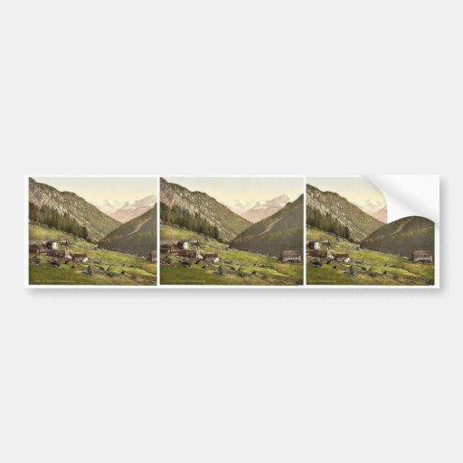Tre Croci, towards the Weisskogl (i.e., Weisser Kn Bumper Stickers