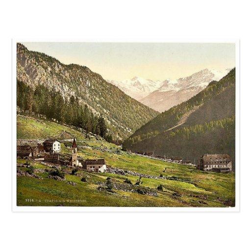 Tre Croci, towards the Weisskogl (i.e., Weisser Kn Post Cards