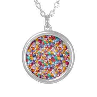 TREASURE 2014 : Enjoy and inherit for PENNIES Round Pendant Necklace