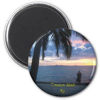Treasure Island, Fiji Magnet