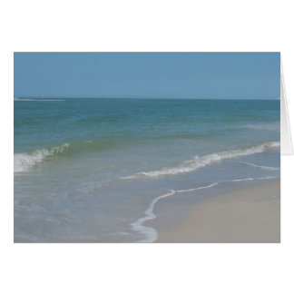 Treasure Island Florida Beach Card