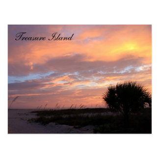 Treasure Island, Florida Postcard