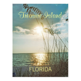 Treasure Island Florida Postcard