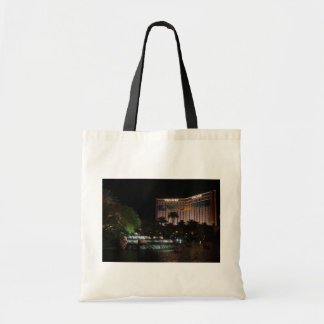 Treasure Island Hotel & Waterfall Tote Bag